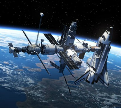 Shuttle Space Station
